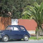 Auch ein Fiat 500 kann einem von der Strasse drängen