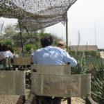 einfaches Restaurant direkt am Strand von Forte Dei Marmi