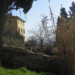 """meine"" gelbe alte Villa in Vicopisano"