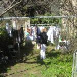 ...und wieder hängt die Wäsche falsch
