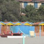 Strand von Forte Dei Marmi vor der Hauptsaison im März