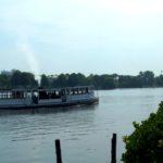 Hamburg an der Alster im Sommer