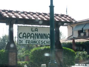 Diskothek in Forte Dei Marmi direkt am Meer – La Capannina di Franceschi