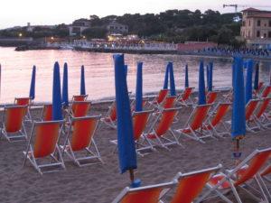 Straende Toskana Ende der Saison