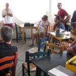 informelle Praesentation beim Barcamp Ravenna