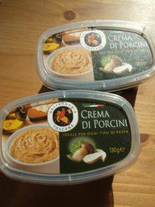 Crema al tartufo und Crema al porcino im Handgepäck in Italien