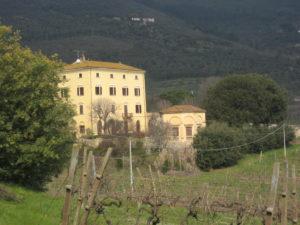 Die Villa in Vicopisano Toskana