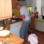 Gianni aus dem Restaurant Da Bercau Piemont in meiner HH Küche