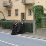 Mittelalterliche Kostueme in Alba