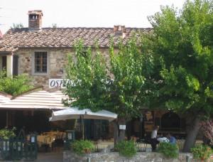 Osteria La Piazza in Piazza Castellina im Chianti Toskana