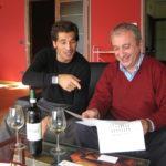 Pietro Gonella und Paolo Sartirano bei kreativer Arbeit Montforte d´Alba