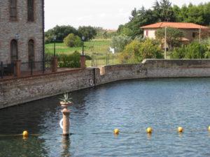 Therme Toskana in der Nähe von Grosseto und Pisa