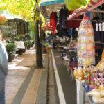 Trueffelmarkt in Montaione im Oktober Toskana