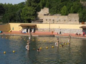 großes Thermal Schwimmbad Calidario 38 Grad in der Toskana