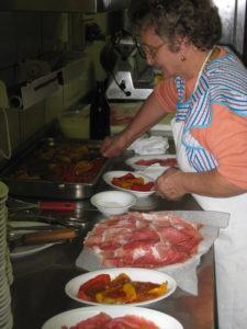 Rezept italienische Vorspeise Peperoni con salsa di tonno