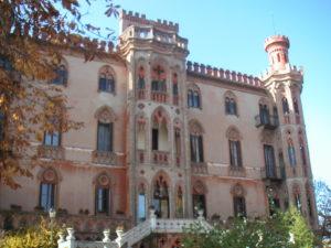 romantisches Schloss Hotel Novello im Piemont