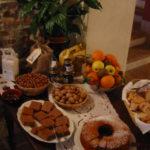 selbstgebackener Kuchen zum Frühstück im Ca San Ponzio im Piemont