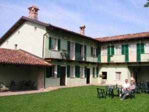 umgebautes altes Bauernhaus Unterkunft Ca San Ponzio im Piemonte