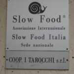Adresse der Slow Food Zentrale in Bra Piemonte