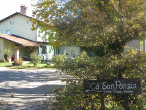 Unterkunft B&B Ca San Ponzio bei Barolo Piemont