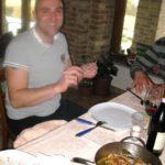 Gianni Koch aus dem Restaurant Dai Bercau Verduno Piemont