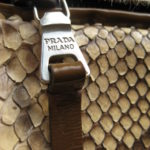 PRADA Handtasche aus dem Outlet in Mailand Salvagente für 95 Euro