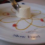 PannSlow Food Restaurant Boccondinvino in Bra Piemontea Cotta im Boccondivino Slow Food Restaurant