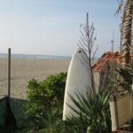 Traumblick von der Strandbar bei Sergio in Forte Dei Marmi