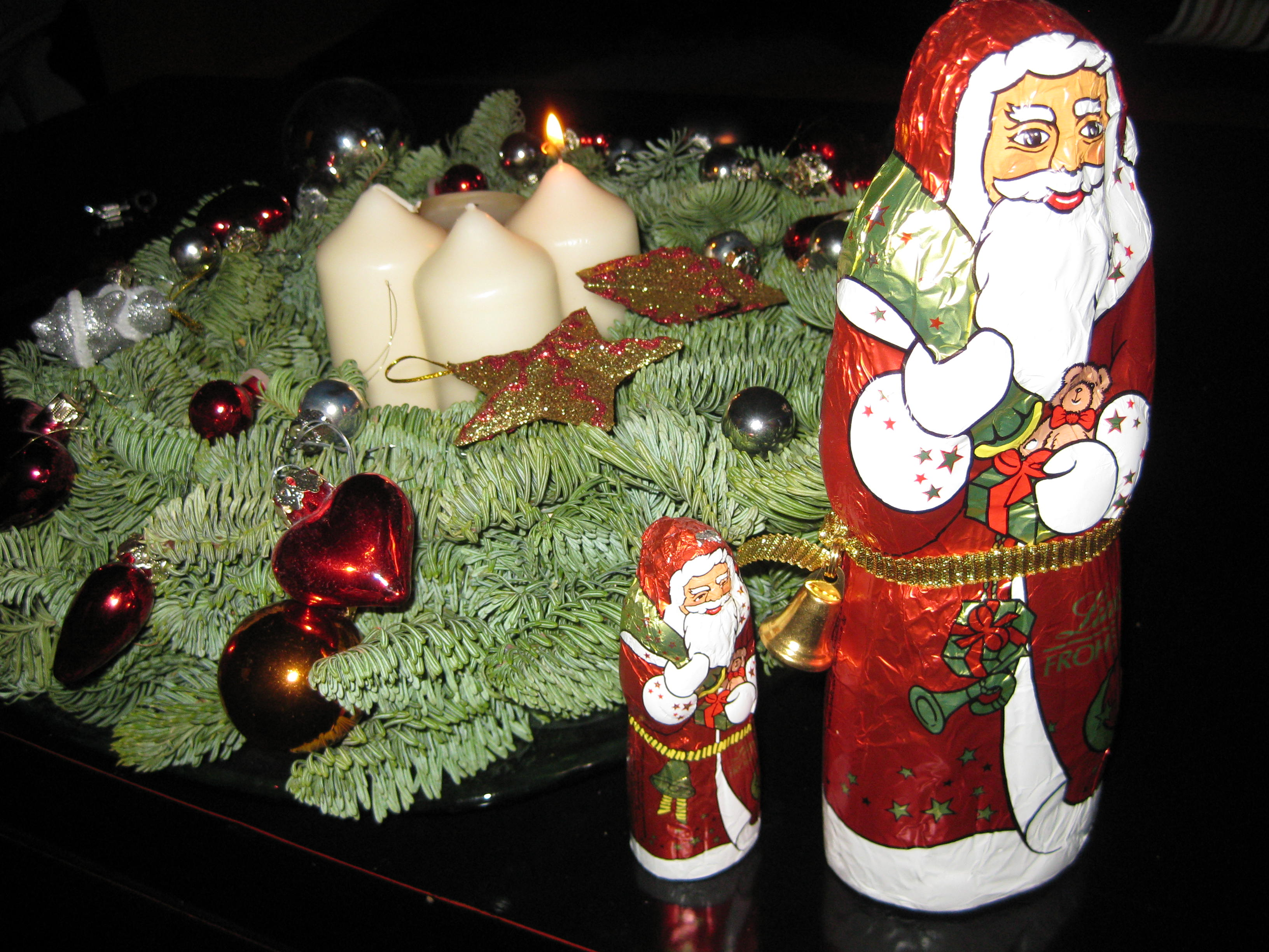 advent und weihnachten in italien irgendwie fehlen mir die tannenzweige und der adventskalender. Black Bedroom Furniture Sets. Home Design Ideas