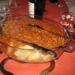 Toskanische Paccheri Nudeln mit  Kaninchen Ragu