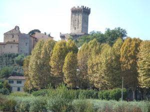 Vicopisano wundervoller mittelalterlicher Ort in der Toskana
