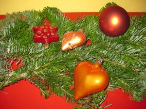Weihnachtsdekoration mit Tannen gibt es in Italien kaum