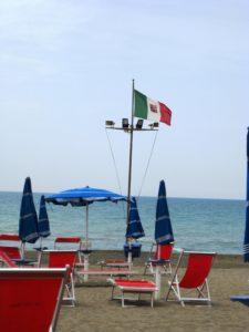 schoener Strand in der Toskana bei Marina di Castagneto