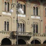 Italienische Post um ein Konto zu eröffnen