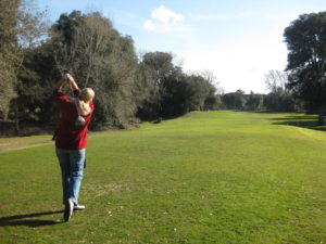 Golf im Februar in Tirrenia Toskana