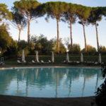 Pool vom Borgo Colleoli in der Toskana bei Palaia