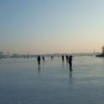 zugefrorene Alster Hamburg Januar2010