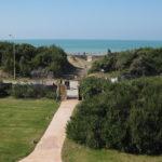 Blick von der Terrasse des 5 Sterne Hotel Il Tombolo in Marina di Castagneto Maremma