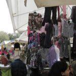 Forte Dei Marmi Markt erste Fruehlingsmode