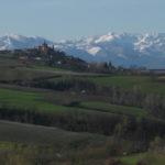 Schloss Novello im Piemont