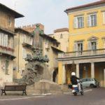 klassische italienische Vespa von Piaggio