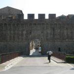 alte Stadtmauer Colle Val D´Elsa Toskana