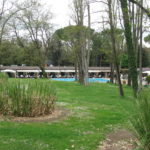 grosse Parkanlage des Borgo San Luigi Toscana
