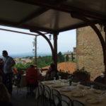 Terrasse Restaurant Pinzagrilli Toscana Meer