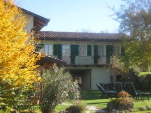 Agriturismus Ca San Ponzio im Piemont bei Barolo