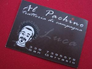 Neues typisches Restaurant in der Toskana: Geheimtipp Al Pachino
