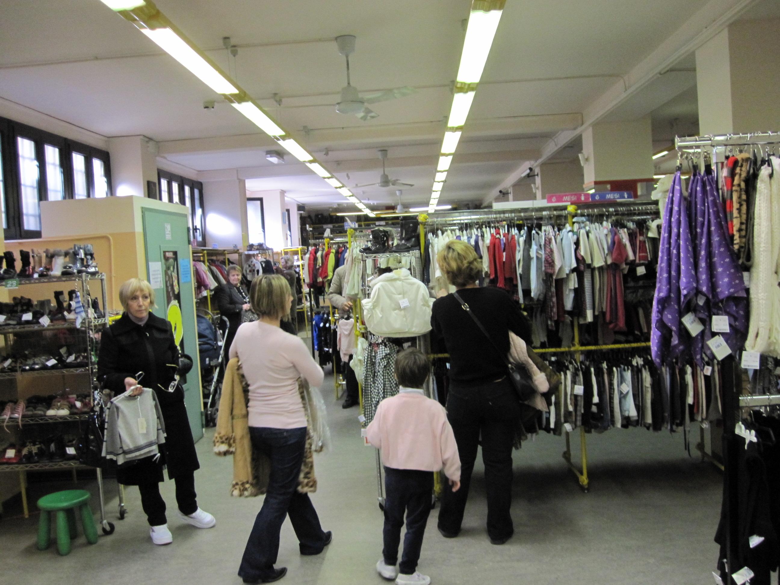 Shopping Tipps Mailand zu Weihnachten: Salvagente und Salvagente ...