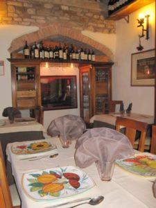 Restaurant Da Alighiero Anghiari