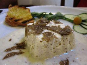 Soufflè mit Trueffel Toskana