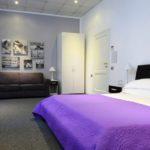 Zimmer Hotel Pirandello Rom